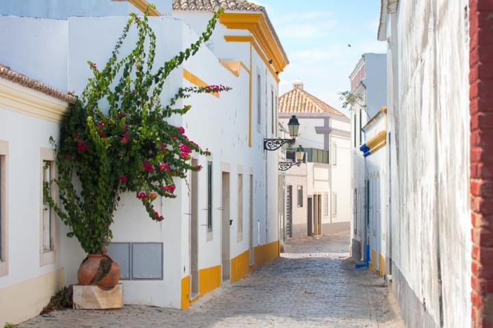 Kultur in Portugal die Altstadt von Faro