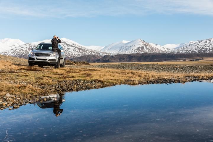Mietwagenausflug in Island