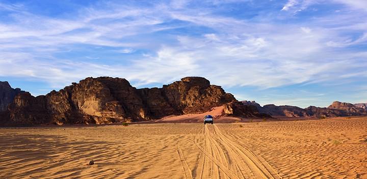Deserto del Wadi Rum Deserto