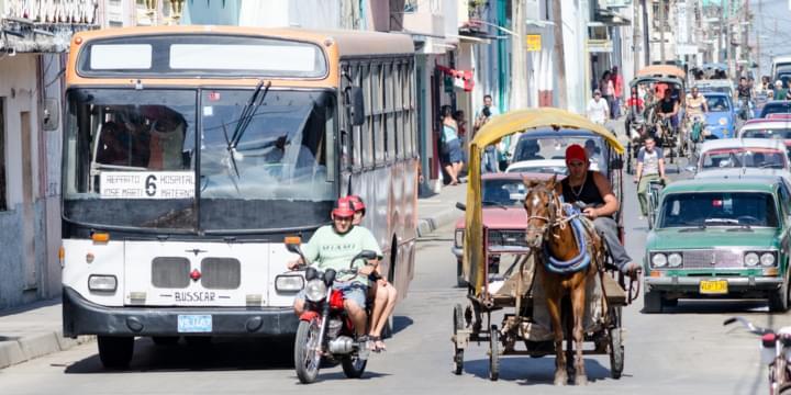 Straßensicherheit mit dem Mietwagen Kuba