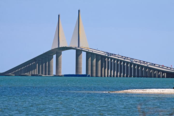 Puente en Tampa, Florida