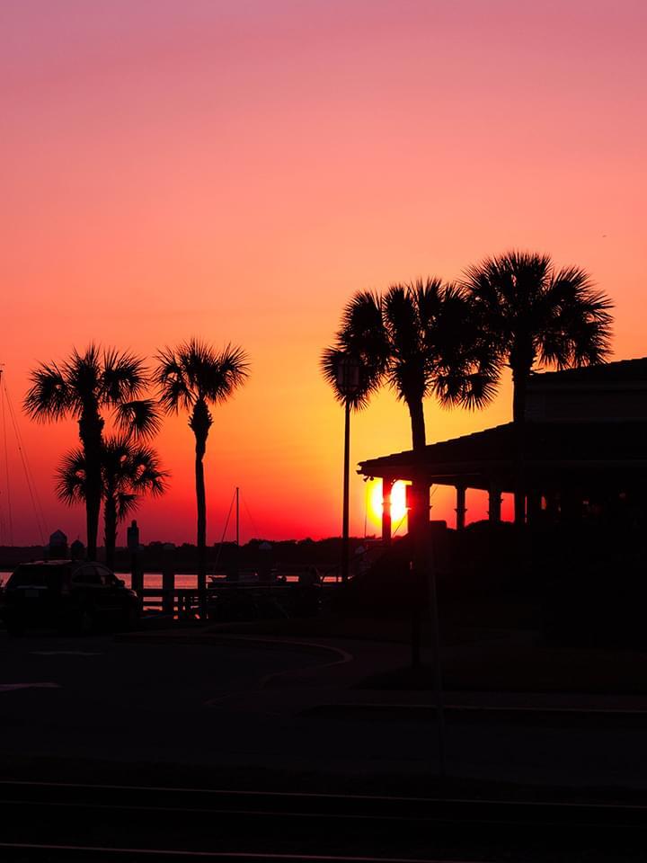 Sonnenuntergang Amelia Island Florida USA