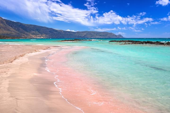 Playa Elafonissi, Creta