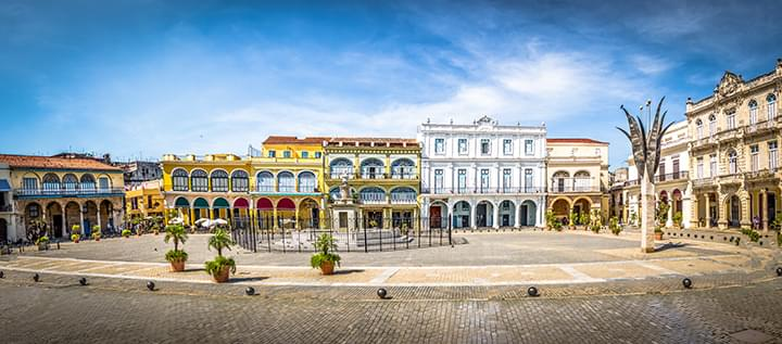 Plaza vieja à La Havane