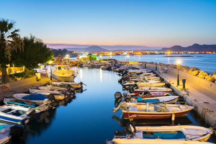 Hafen in Rhodos