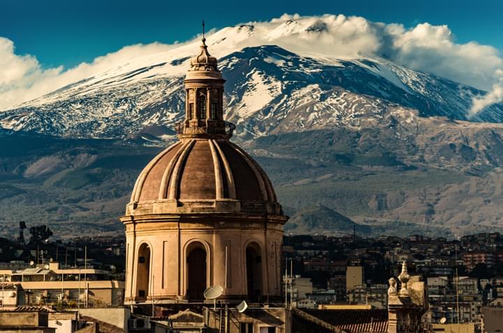 Mit dem Mietwagen durch Catania