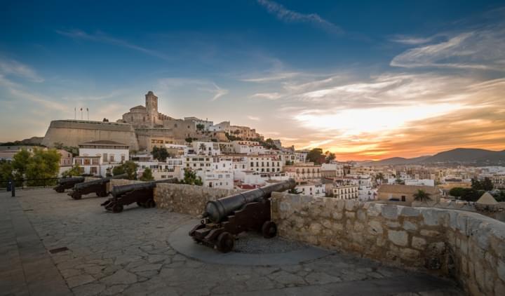 Wehrgang in Ibiza Stadt