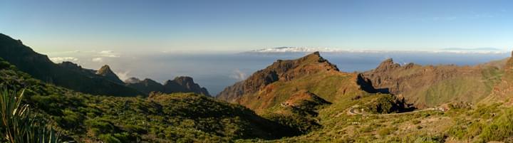 Teneriffa Panorama Berge
