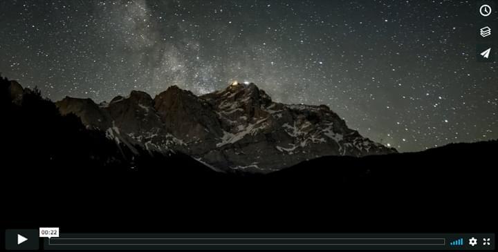 Video  Sternenhimmel Wegelnburg