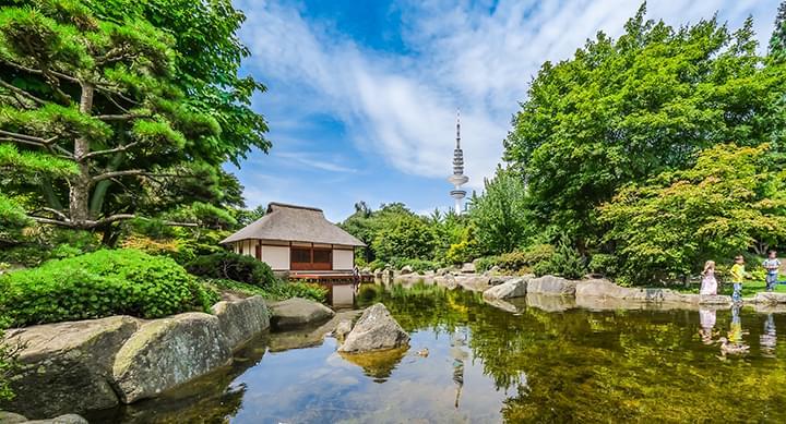 Jardín japonés en Hamburgo