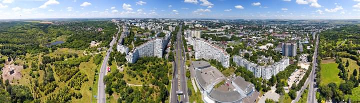 Panoramasicht über Chisinau, Moldawien