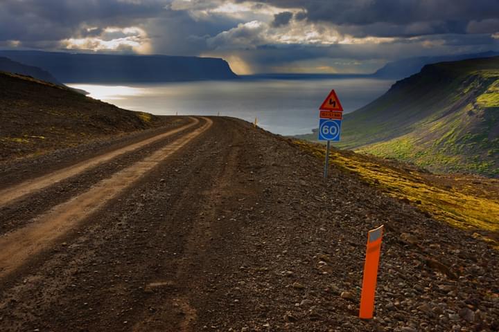 Verkehrsregeln in Island