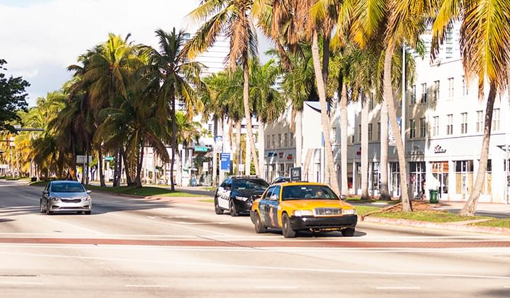 Mit dem Mietwagen in Miami unterwegs