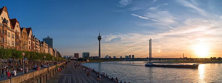 Vista de Düsseldorf