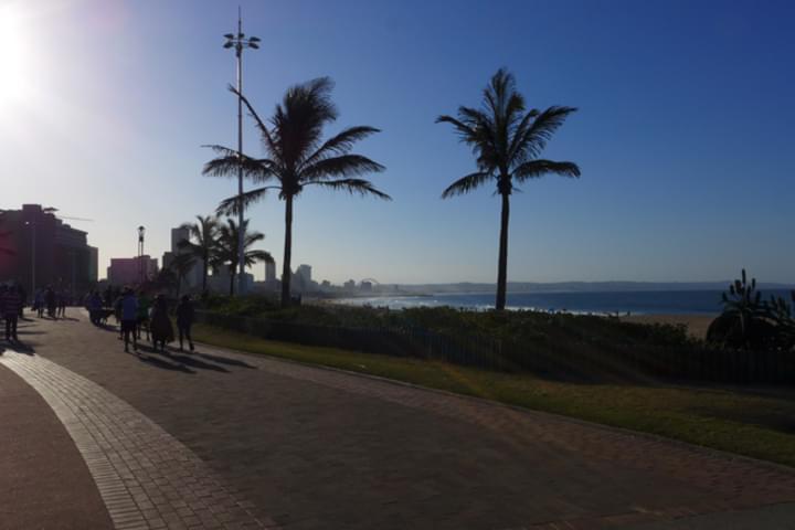Traumhafte Küste in Durban