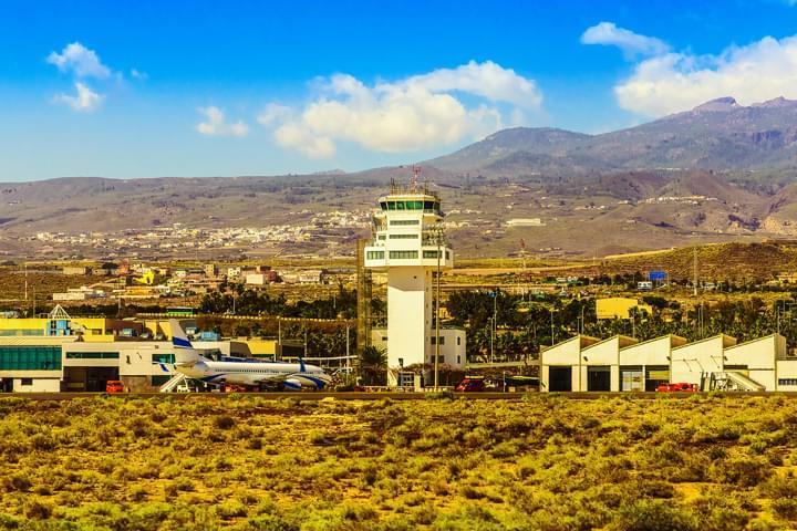 Flughafen Tenerifa