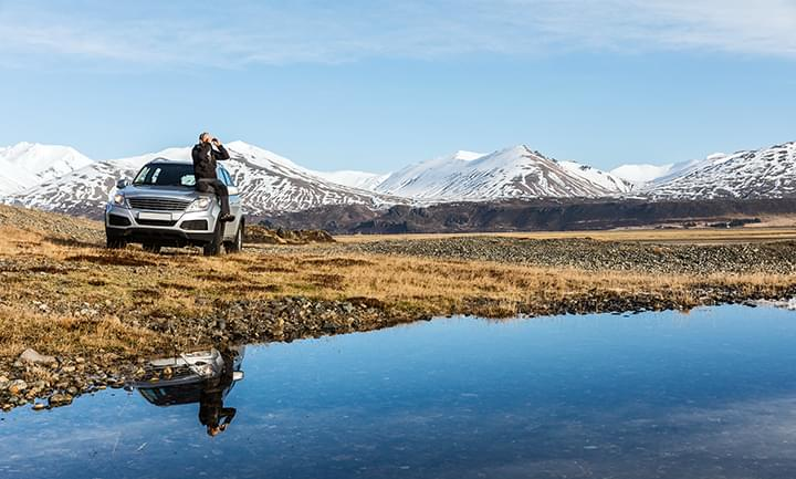 Discover Iceland by rental car