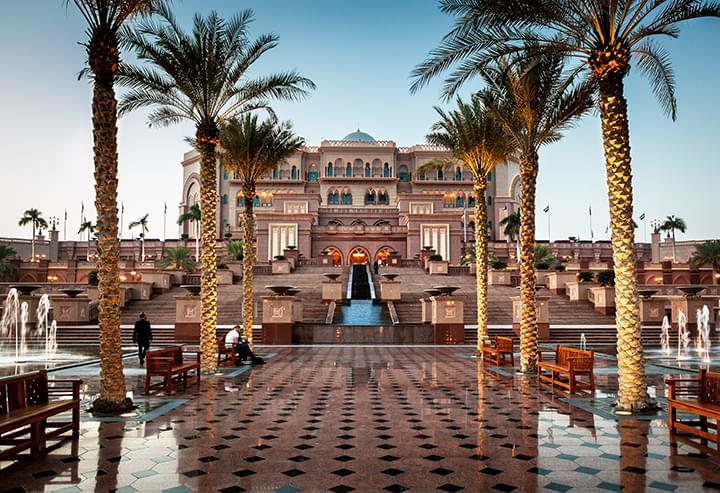The Emirates Palace Hotel Abu Dhabi