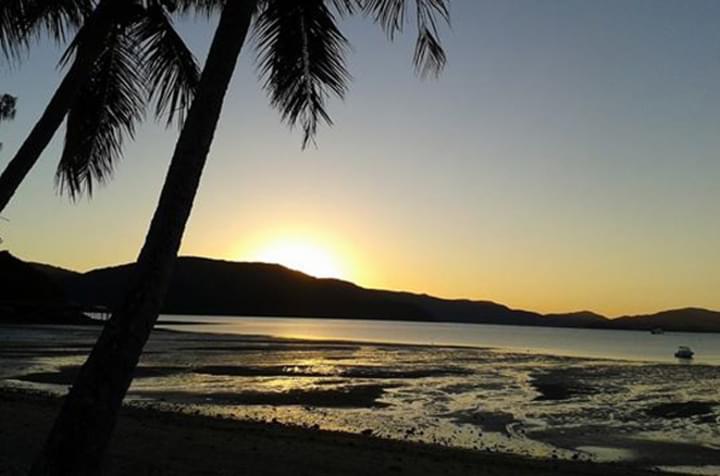 Sonnenuntergang auf den Long Islands