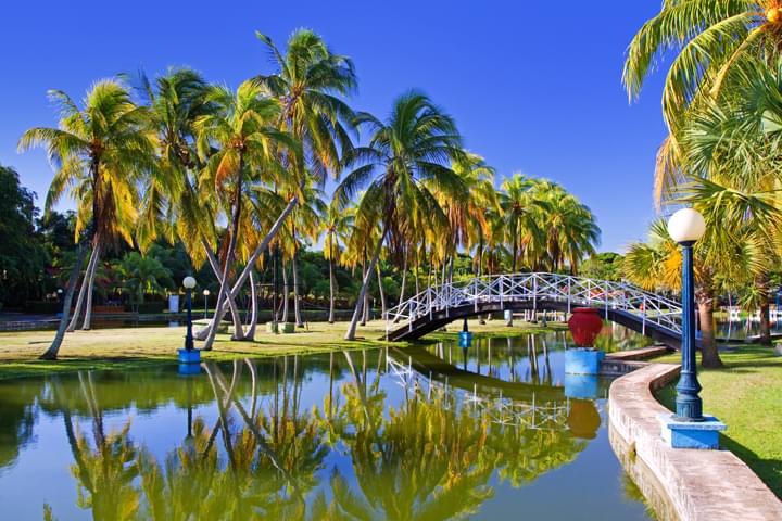 Parque Josone en Varadero, Cuba