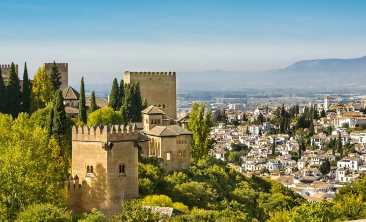 Vista de la Alhambra, Granada