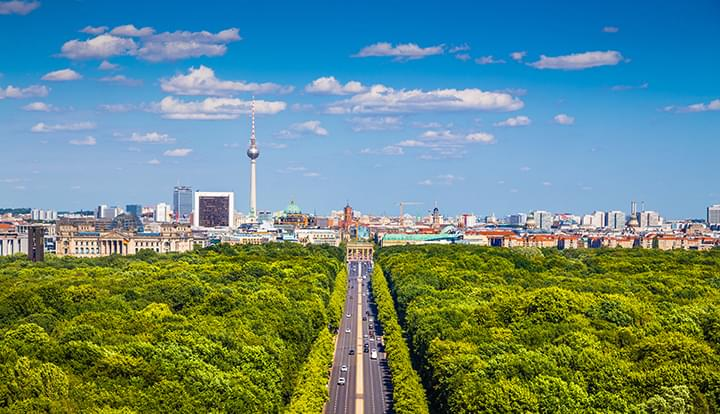 Descubra Berlin con un coche de alquiler
