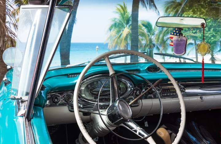 Hireal car Cuba