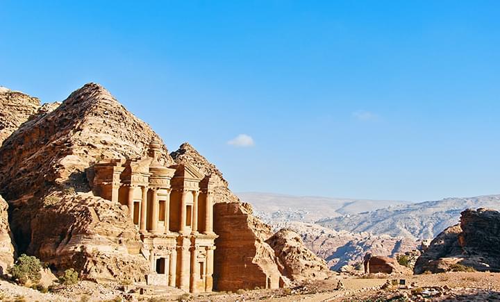 Ad Deir in Petra Jordanien