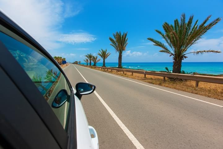 Carretera coster en Chipre