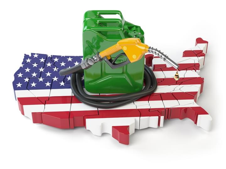 Tankfüllung USA