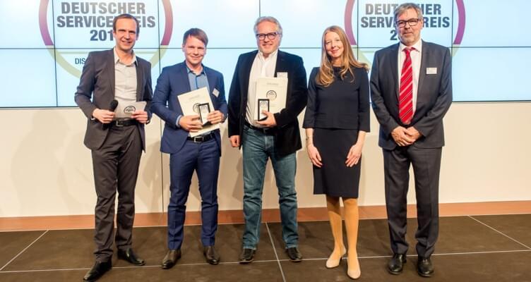 MietwagenCheck erhält Deutschen Servicepreis 2017