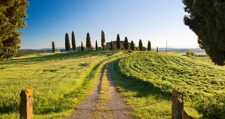 Mietwagen Road-Trip durch die Toskana
