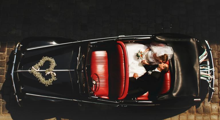 Alquiler de coches coche de boda