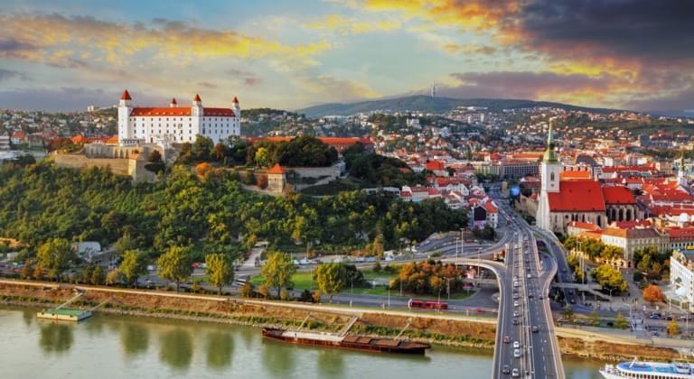 Location de voiture Région de Bratislava