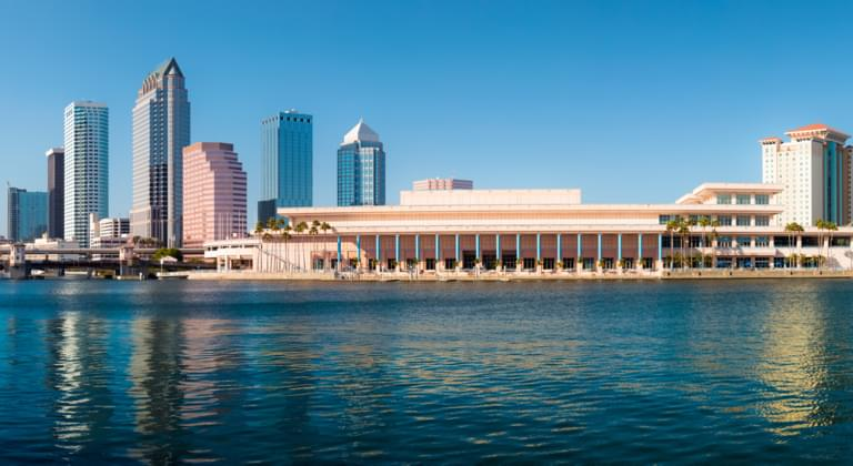 Tampa Skyline, Florida