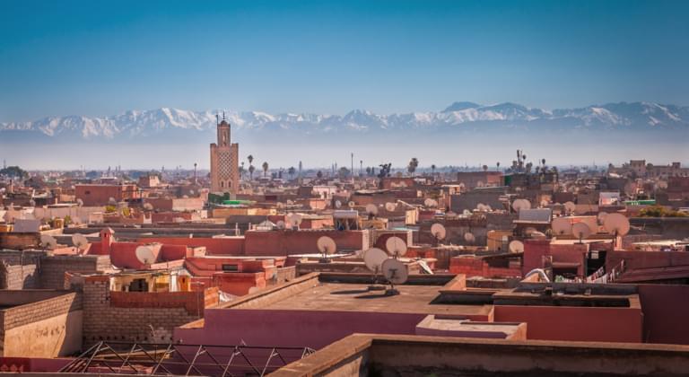 Alquiler de coches Aeropuerto de Marrakech-Menara