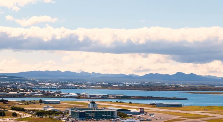 Huurauto Luchthaven van Reykjavik