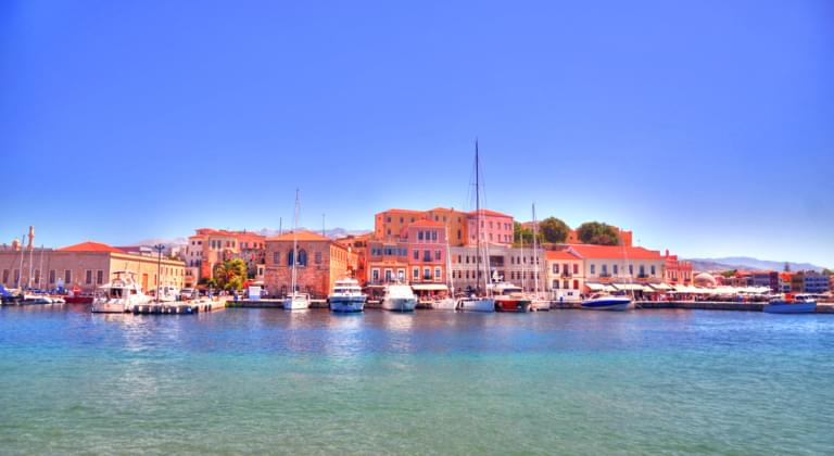 Hafen in Chania, Kreta