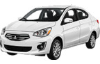 Mitsubishi Mirage 2-4T, Hervorragendes Angebot Pittsburgh International Airport