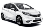 Nissan Note, good offer Cephalonia International Airport