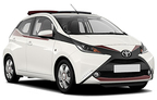 Toyota Aygo, Cheapest offer Ionian Islands Region