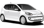 Group A - Volkswagen Up or similar, Hervorragendes Angebot Santorin