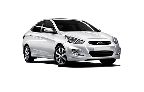 Hyundai Accent blue or similar