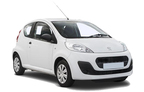 Peugeot 107, Gutes Angebot Airport OSL