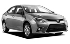 Toyota Corolla, Excellent offer Alice Springs Airport