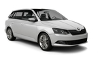 Skoda Fabia car, good offer Cologne Airport