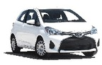 Toyota Yaris 2dr, offerta più economica Lihue Airport