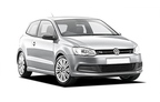 VW Polo, Excellent offer Friedrichshafen Airport