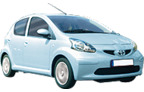 Toyota Aygo 2T AC, Alles inclusief aanbieding Luchthaven Trapani-Birgi