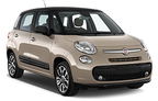 Fiat 500L, Excellent offer Cagliari Airport
